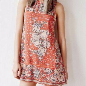 Ecote open back dress